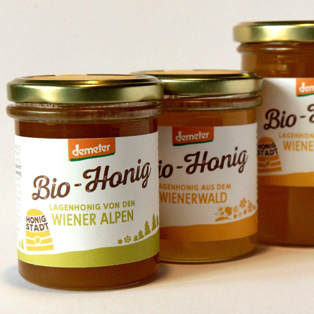 Bio - Lagenhonige in Demeter - Qualität Bio Imkerei Honigstadt